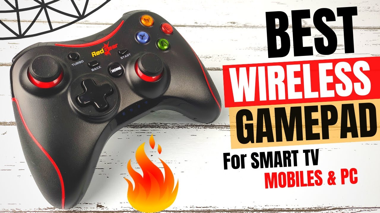 Best Wireless Gamepad for Android TV & Mobile   Redgear Pro Wireless Gamepad