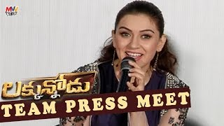 Luckunnodu Team Press Meet Vishnu Manchu, Hansika Motwani Raaja Kiran