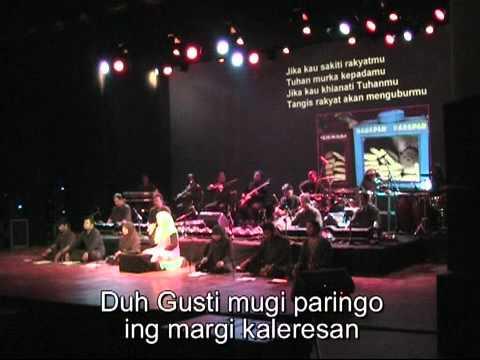 Konser8 Kiai Kanjeng & mbak Via - Duh Gusti