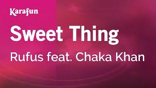 Karaoke Sweet Thing - Rufus *