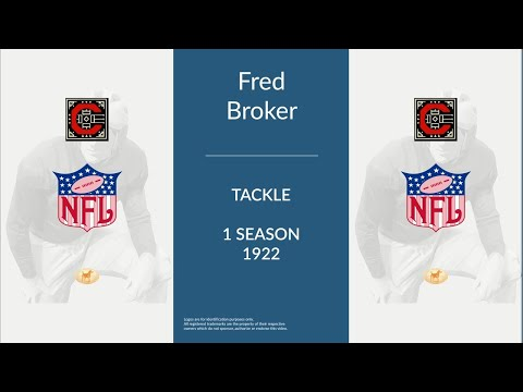 Fred Broker: Football Tackle