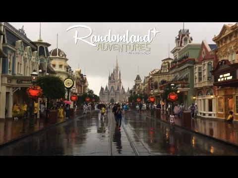 Hurricane at Walt Disney World - Magic Kingdom Closed