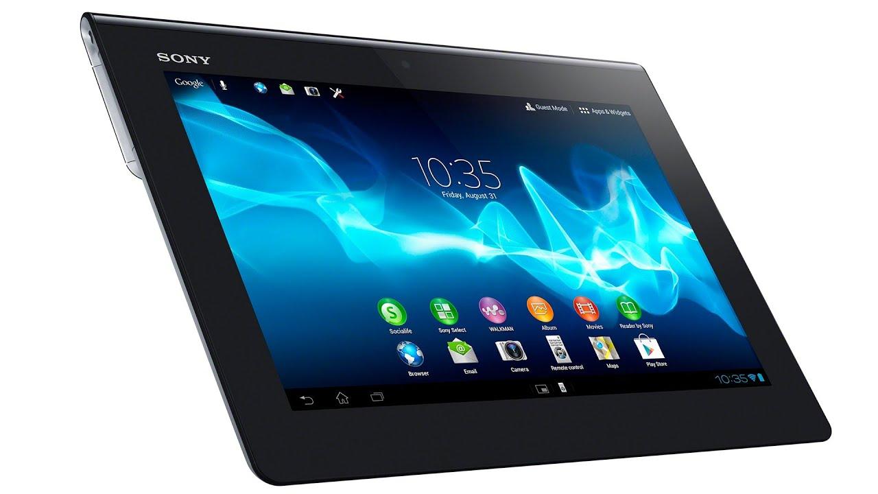 Sony Xperia Tablet S recenzja prezentacja test opinia review