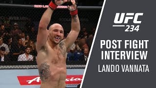 UFC 234: Lando Vannata - 'This is Not My First Rodeo'