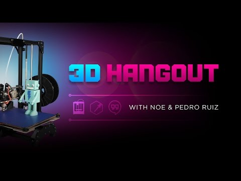 3D Hangouts – Mods, Updates and LEDs @adafruit #adafruit #3DPrinting