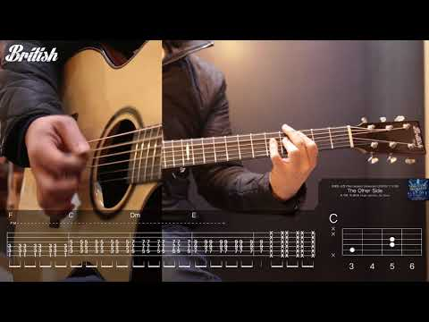 위대한 쇼맨(Great showman) O.S.T - The other side(Hugh Jackman, Zac Efron) 통기타 배우기 guitar tutorial