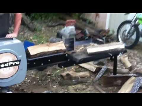 Дровокол на базе МТЗ-82, сделанный своими руками - YouTube