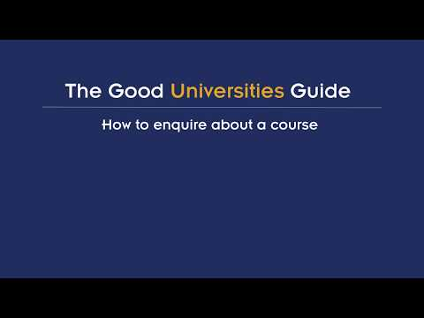 How to Enquire about a course