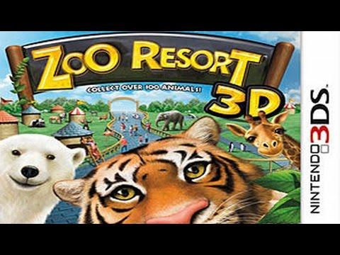 Zoo Resort 3D Gameplay {Nintendo 3DS} {60 FPS} {1080p}