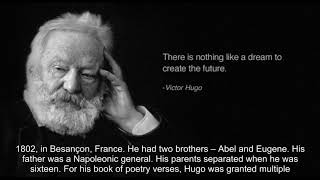 Interesting Facts About Victor Hugo 2017 Video