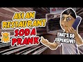 Angry Asian Restaurant Soda Prank Stop Motion Animation Ownage Pranks