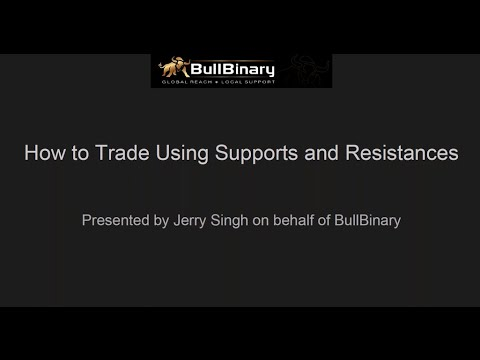 BullBinary English Webinar: How to Trade Using Supports and Resistances 17/05/2016
