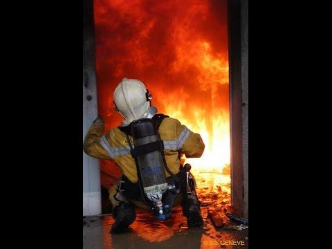 Reportage sapeurs-pompiers de Genève