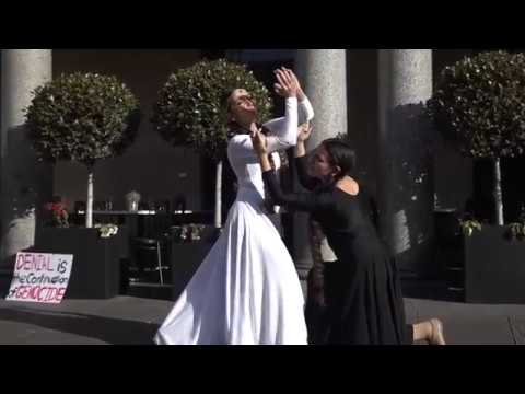 March for Justice - Hamazkaine Armenian Sydney Dance Company
