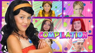 Super SILLY Princess Rap Battle Compilation | WigglePop