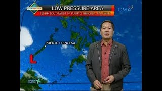 Weather update as of 6:10 a.m. (February 16, 2018)