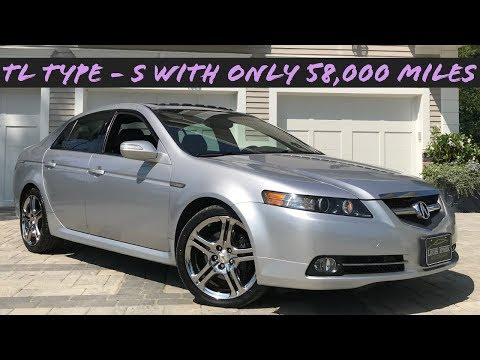 (ONLY 58,000 MILES!) 2008 ACURA TL TYPE-S Walk-around Review At Louis Frank Motorcars LLC