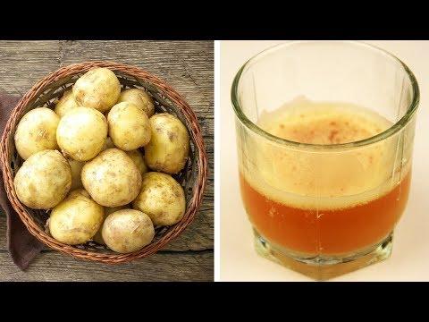 Как правильно принимать картофельный сок