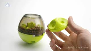Interactive Dog Cat Toy Pet Food Dispenser Review