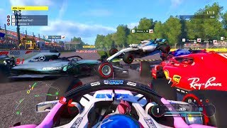 The Most Insane Dirty Drivers in F1 2018