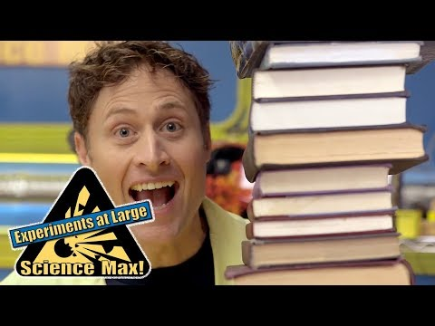 Science Max | BALANCING BOOKS | Kids Science | Experiments