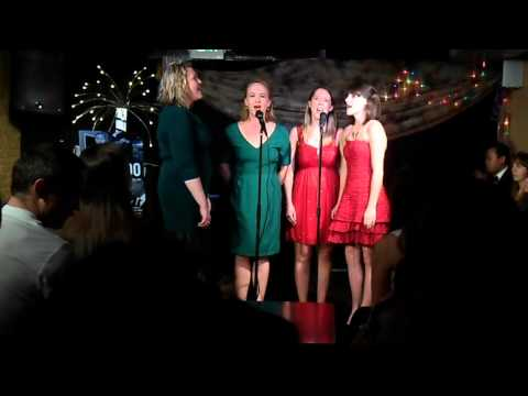 Carrie, Catherine, Sydney, and Reavey sing