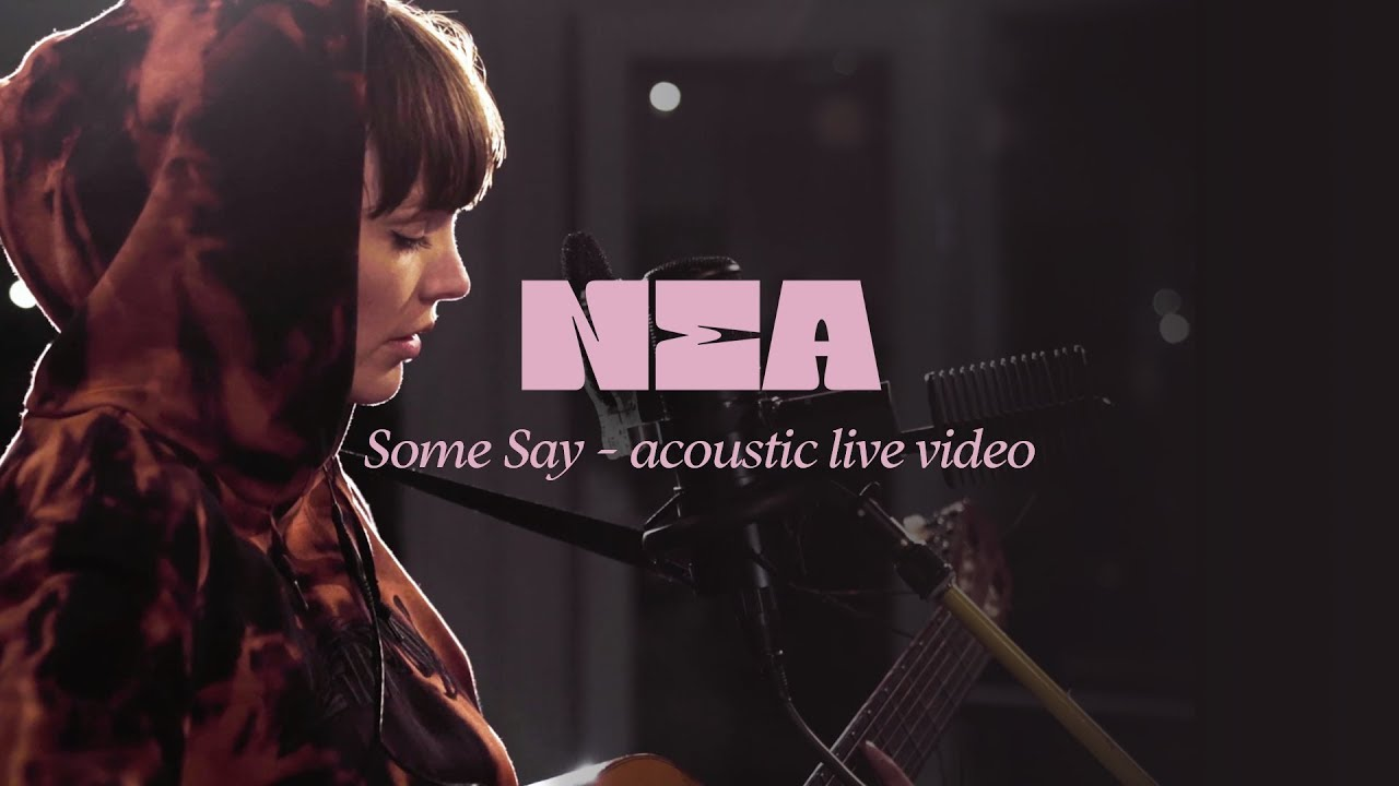 Nea 'Some Say'- Acoustic Live Session in Stockholm