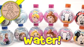 Disney Aqua Ball Flavored Water - Frozen, Mickey Mouse, Princess & Donald Duck