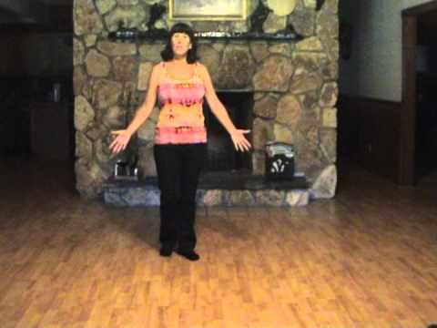 Pontoon Line Dance - Demo & Teach by Gail Smith.mpg