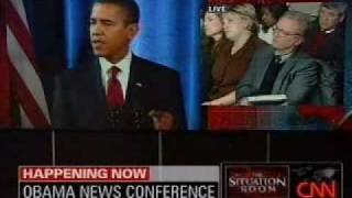 President-Elect Barack Obama Discusses California