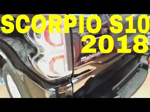 NEW MAHINDRA SCORPIO S10 2018 REAL REVIEW SPECIFICATIONS PRICE DETAILS INTERIOR EXTERIOR FEATURES