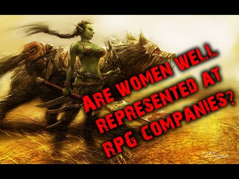 #RPG - Are women well represented in RPG companies?