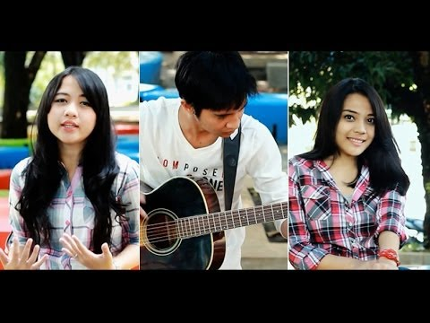 Let it Go - Frozen (Dinesia, Cikallia, Andri Guitara - cover)