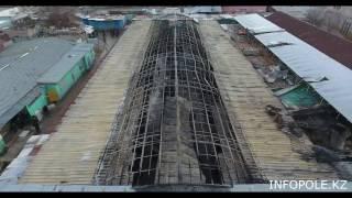 Ужас после пожара на рынке в Актау, 02 января 2017г.