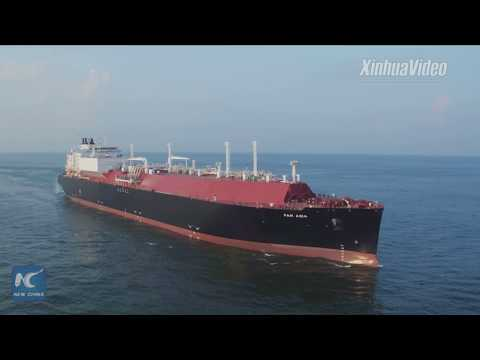 Super refrigerator tanker! A look at Chinese-made LNG carrier