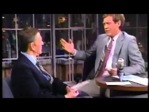 Tony Randall on Late Night, March 20, 1986