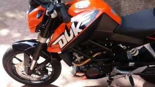 KTM Duke 200 sound