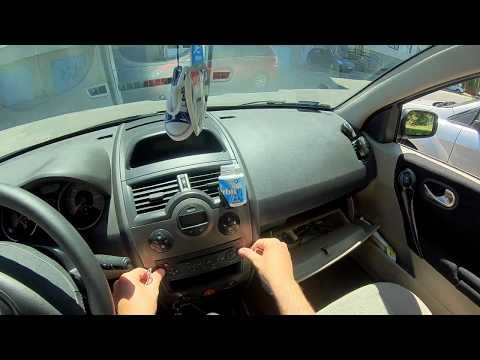 Renault Megane 2  aux cable in  installer