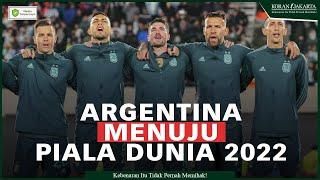 Argentina Selangkah lebih dekat ke PD 2022