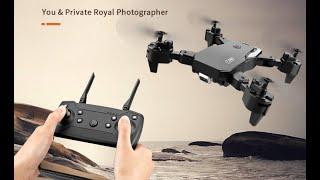 Обзор дрона S60D. Первое впечатление и полет квадрокоптера с регулируемой высотой и с камерой 4k