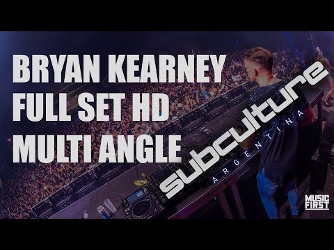 Subculture Argentina - Bryan Kearney Full Set Live HD