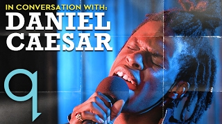 Daniel Caesar talks about feeling lonely in the suburbs and sleeping on the streets to make music