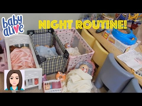 Thumbnail: Night Routine Of All 25 Baby Alives!