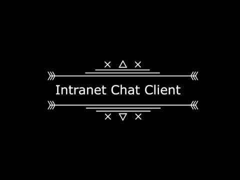 Intranet Chat Client