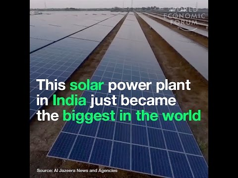 This solar power plant in India just became the biggest in the world
