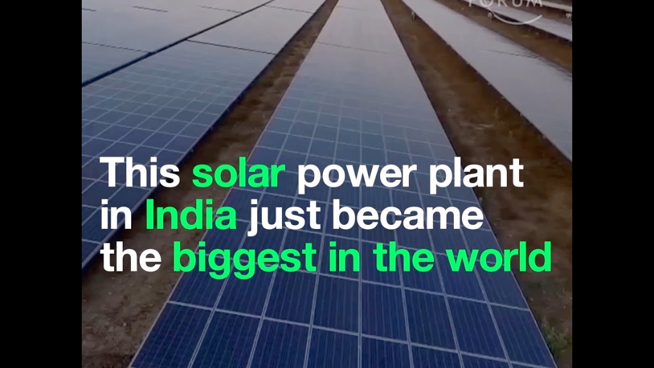 This Solar Power Plant In India Just Became The Biggest In