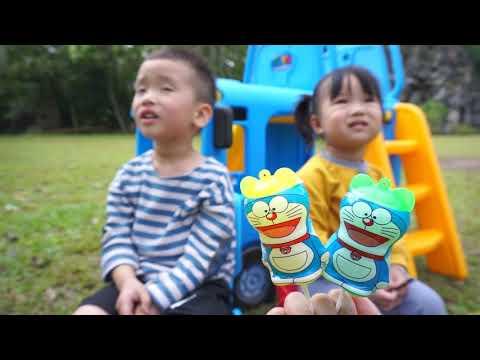 色を学ぶ と キャンディー ジャイアントロリポップ |こどものうた・ 子供アニメ #3