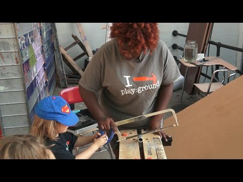 The Junk Playground Of New York City >> Junk Playground Gives Saws Nails Grounds To Play Youtube