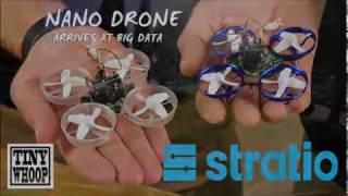 Nano Drone arrives at Big Data - Mr.Zitus FPV