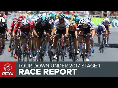 Tour Down Under Stage 1 Race Report